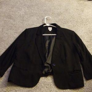 Lauren Conrad black blazer - size 10